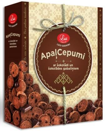 Apaļcepumi ar kakao un šokolādes gabaliņiem