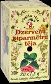 Dzērveņu-piparmētras tēja