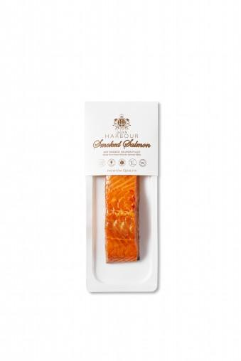 Hot smoked salmon fillet