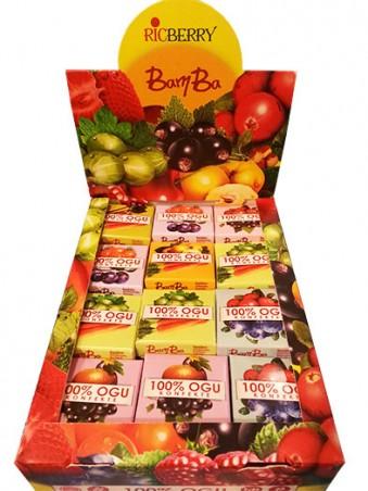 Konfekte Bamba (ābolu-smiltsērkšķu)