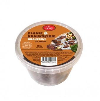Plānie& kraukšķīgie grauzdiņi ar sēņu garšu
