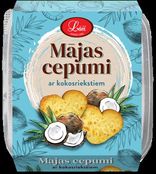 Mājas cepumi ar kokosriekstiem