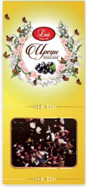 Шоколад из черной смородины