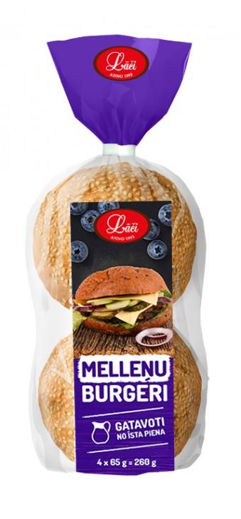 Melleņu burgers