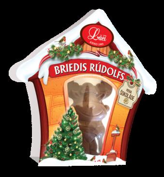 """Šokolāde """"Briedis Rūdolfs"""""""