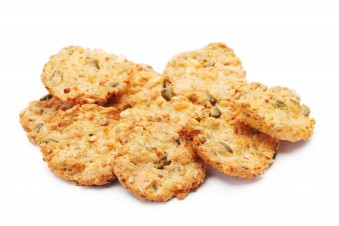 Fitness cookies with cheese