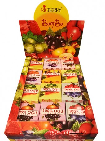 Konfekte Bamba (smiltsērkšķis-cidonija)