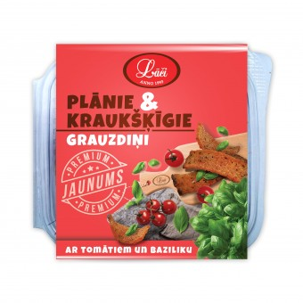 Тонкие & хрустящие cухарики с помидорами и базиликом