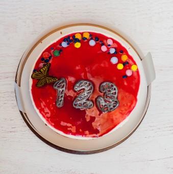 Jogurta ķiršu torte