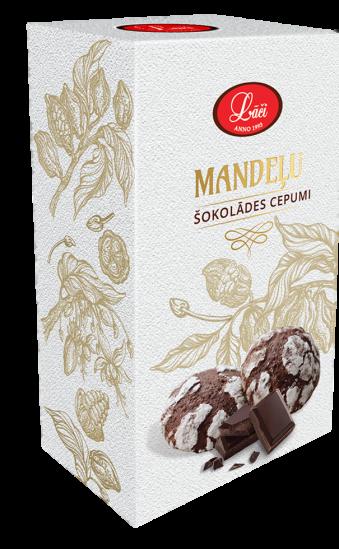 Mandeļu šokolādes cepumi