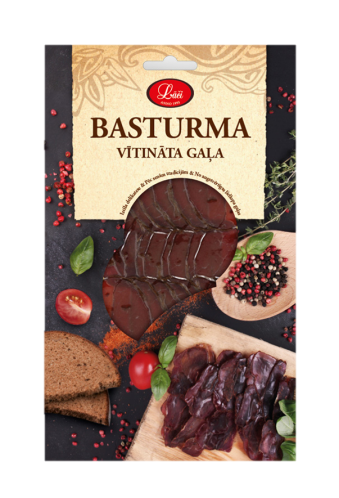 "Dried meat ""Basturma"""