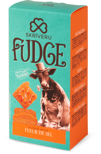 Īriss Fudge ar sāli