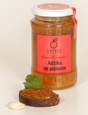 Adžika from plums