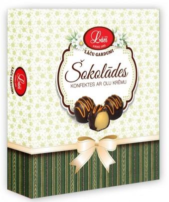 Шоколадные конфеты с яичным кремом