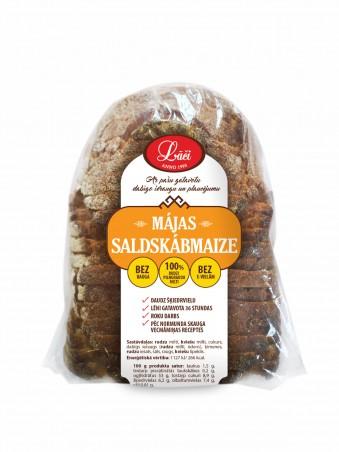 Homemade fine rye bread