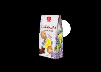 LAVANDAS citronu cepumi, 140g