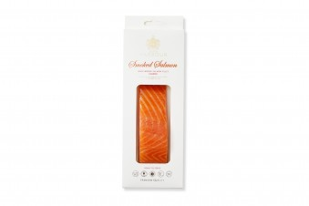 Cold-smoked salmon fillet