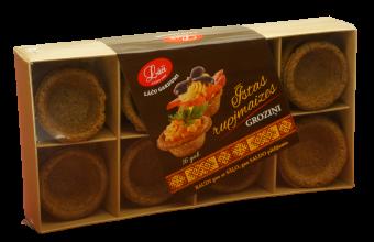 Real Rye Bread tart shells