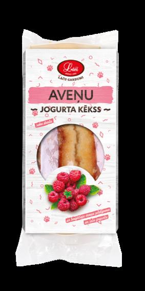 Raspberry yogurt muffin